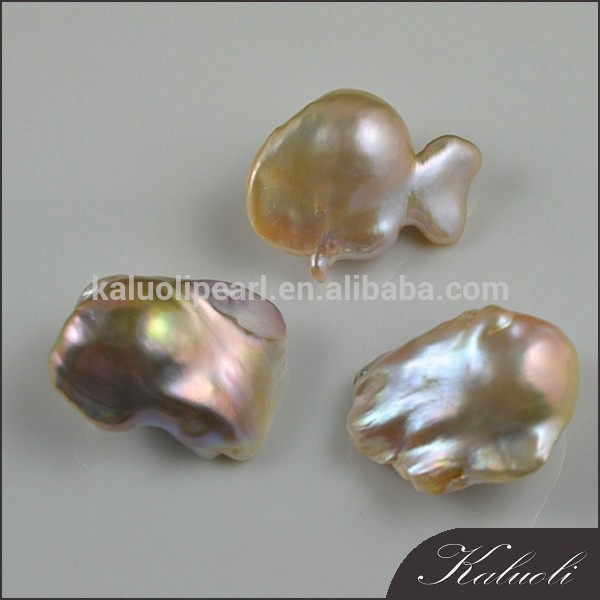 20mm nuclear/fireball big baroque freshwater pearl