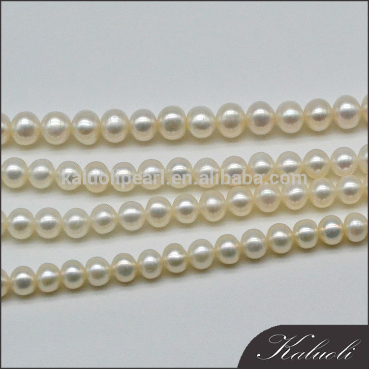 9-10mm AA round natural pearl for making jewelry