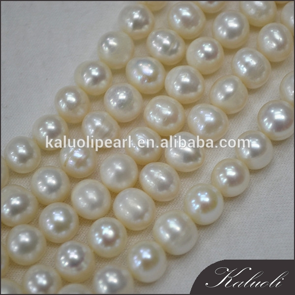 Wholesale natural decoration 7-8 mm A nice quality potato white pearl
