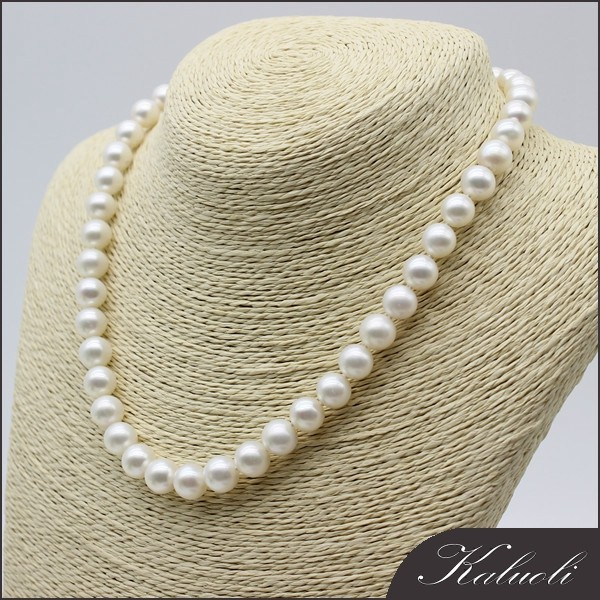 Wholesale freshwater pearl about 9-10mm round AAA for mother