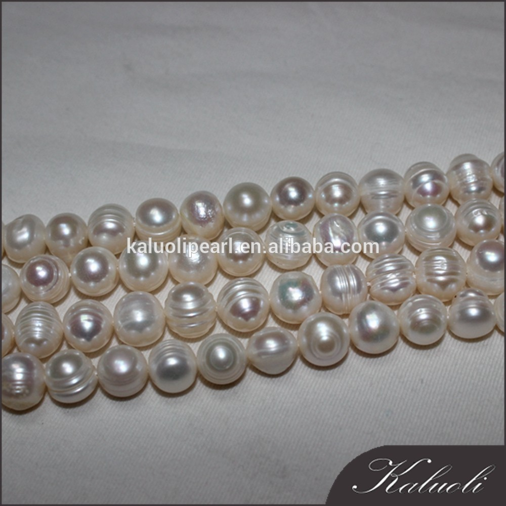 8-9 mm A good luster potato freshwater pearls for making jewelry