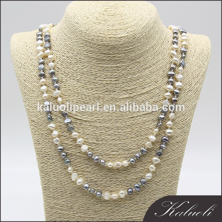 Customized alibaba top supplier freshwater pearl wholesale necklace