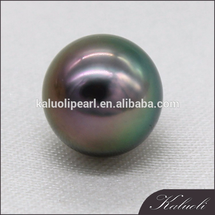 9-10 mm AAA perfect round top quality tahiti black pearl
