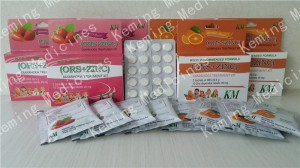 Oral Rehydration Sira + Zinc sulfate dispersible Kihebaheba