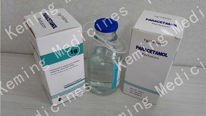 Good Quality Vitamin B12 + Butafosfan Injection - Paracetamol perfusion – KeMing Medicines Featured Image