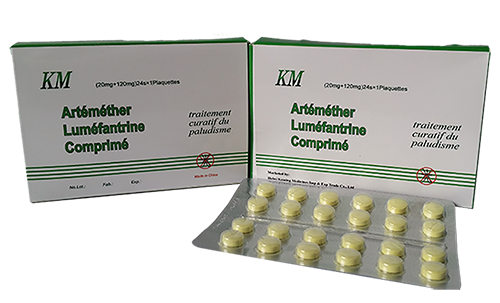 ARTEMETHER + lumefantrin SEKMELERİ