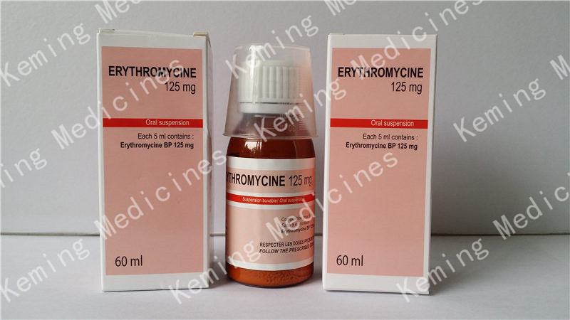 Factory best selling Abiraterone Powder - Erythromycin for oral suspension – KeMing Medicines