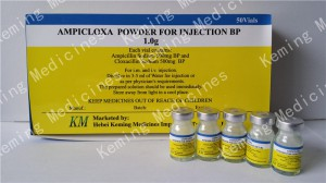 Manufacturer of Amprolium Hcl Factory - Ampicillin & Cloxacillin for Inj. – KeMing Medicines