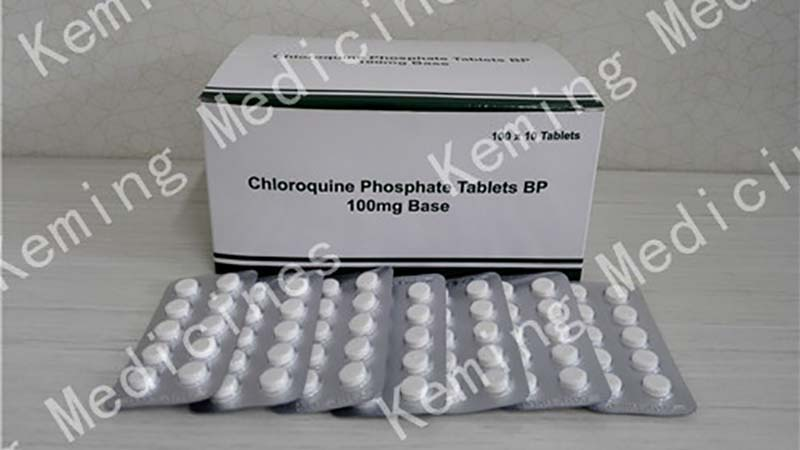 2018 New Style China Fluconazole - Chloroquine phosphate tablets – KeMing Medicines Featured Image