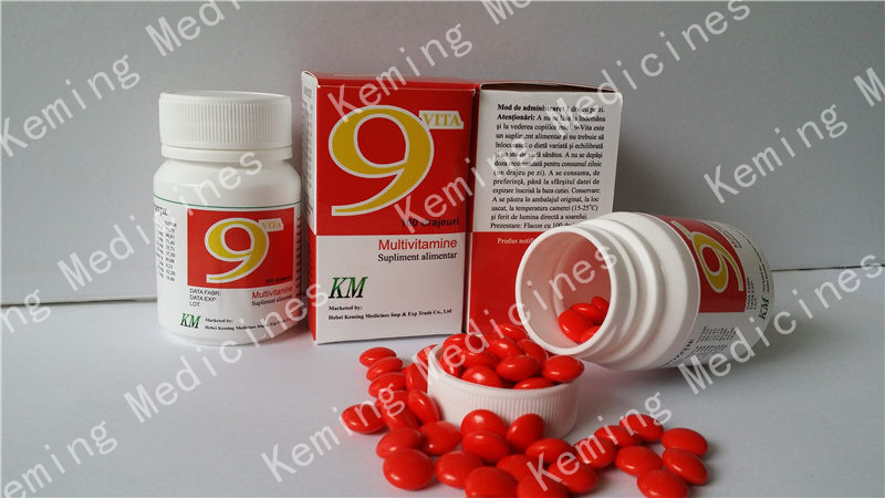 OEM/ODM Factory Clotrimazole Gmp - 9-vitamin tablets – KeMing Medicines