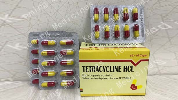 Factory Customized Rubber Antioxidant Ippd 4010 - Tetracycline HCL caps – KeMing Medicines