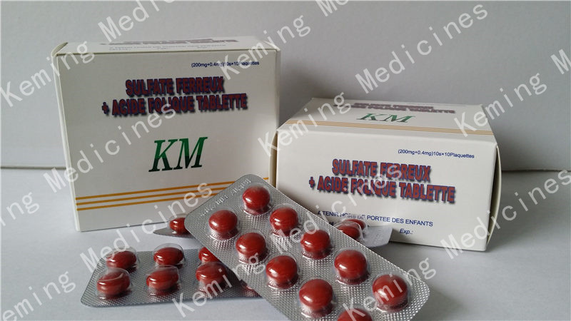 PriceList for Sodium L-aspartate - Ferrous Sulfate +Acide Folique Tablets – KeMing Medicines