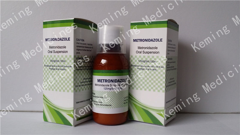 Factory Customized To Order Antifungal Nail Polish - Benzoyl metronidazole Oral suspension – KeMing Medicines