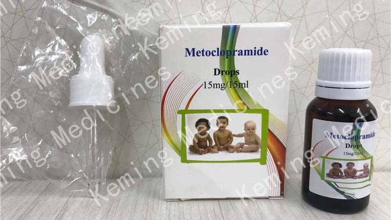 Well-designed Florfenicol Injection Veterinary Medicine - Metoclopramide hydrochloride drops(Children) – KeMing Medicines