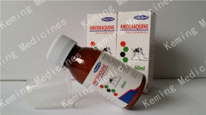 Amodiaquine for oral suspension