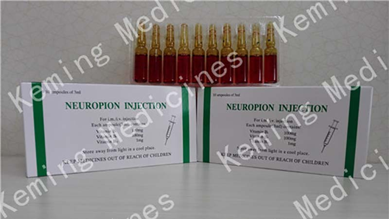 Factory Promotional Streptomycin Sulphate Powder - Neuropion injection – KeMing Medicines