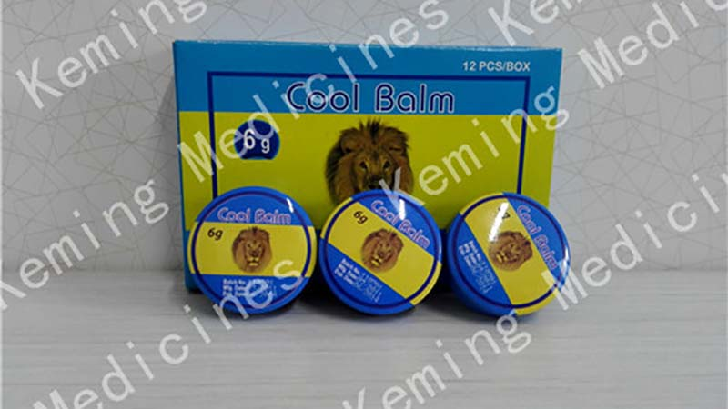 Good User Reputation for Generic Veterinary Drugs - cool balm – KeMing Medicines