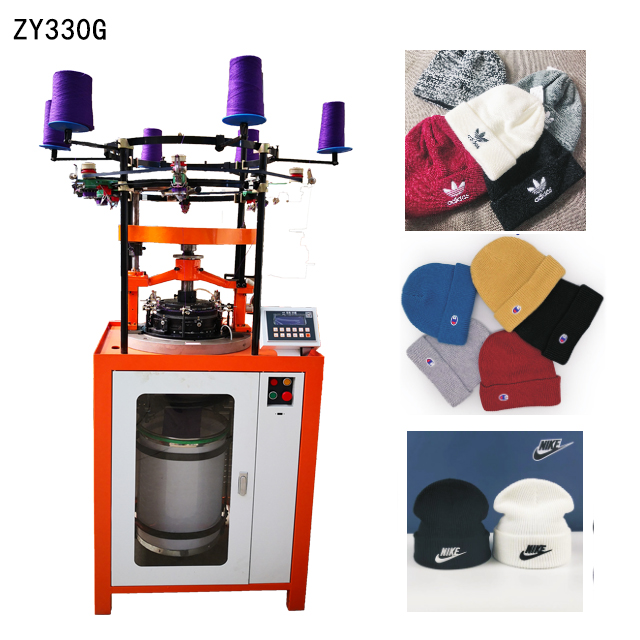 ZY330G Corn needle knit hat making machine Featured Image