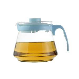 650ml blown glass jug with handle