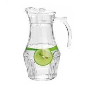 China Cheap price Glass Jars And Lids - 1.5L lemonade glass jug – Kotto