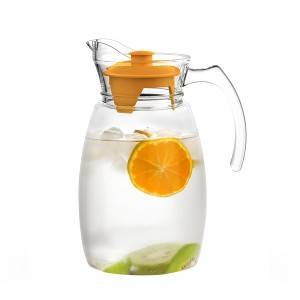2.5L Glass kettle with plastic cover