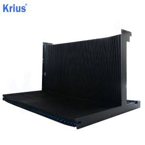 Wholesale Dealers of Non-Flammable Accordion Rubber Bellow - Good Quality Folding Machine Slideway Protective Rail Guard  – Krius