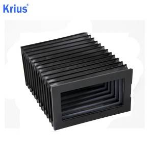 Discount wholesale Metal Telescopic Cover - Bellows Accordion Protections For Lathes – Krius