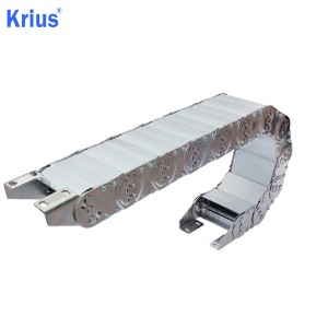 Factory Cheap Enclosed Drag Chain - TLG Stainless Steel Cable Carriers System – Krius