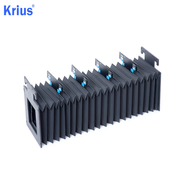 Factory Supply Flexible Nylon Bellow Covers - Expansion Machine Flexible Rubber Accordion Dust Protect Bellows Cover – Krius