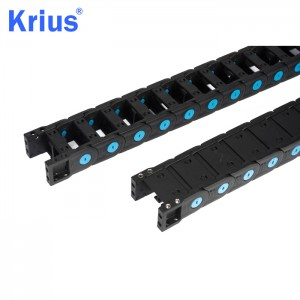 Special Price for Wire Carrier For Cnc Router - Nylon Cable Drag Chain For CNC Machine – Krius