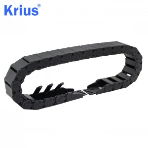 Hot Selling for Nylon Cable Carrier Energy Chain - Stable CNC Ladder Cable Carrier Drag Chain with Four Limit Blocks  – Krius
