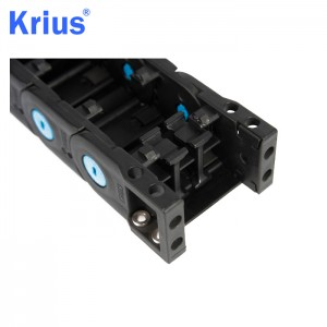 8 Year Exporter Plastic Electric Cable Chain - PA66 Plastic GFPA Material Drag Chain Type Plastic Cable Tray  – Krius