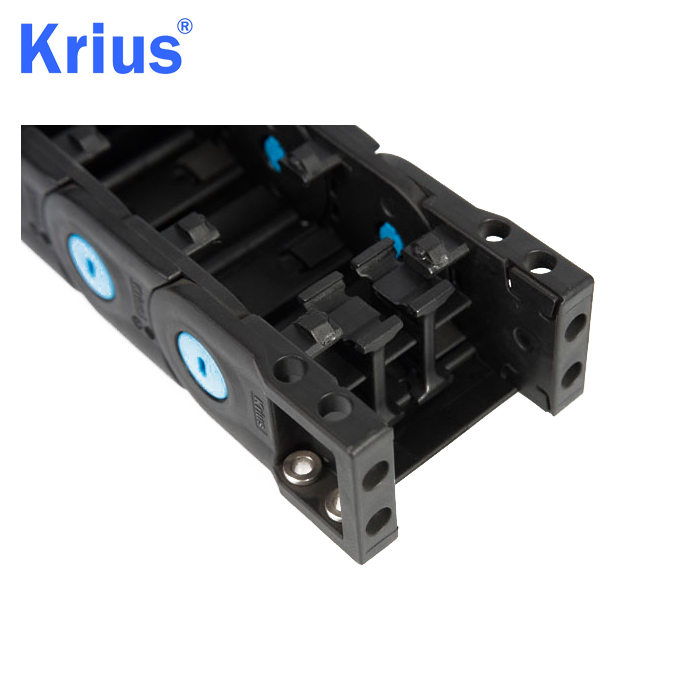 Quality Inspection for Cnc Drag Chain - PA66 Plastic GFPA Material Drag Chain Type Plastic Cable Tray  – Krius