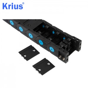 Special Price for Wire Carrier For Cnc Router - Energy Supply CNC Machine Protective Anti- backbend Chain  – Krius
