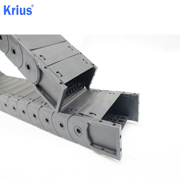 New Arrival China Steel Cable Drag Chain - Assemble And Remove Convenient Antistatic CNC Cable Carrier Drag Chain  – Krius
