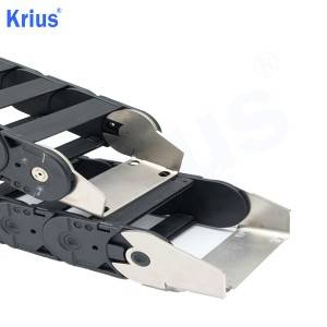Wholesale Flexible Cable Carrier - Customized Steel Cable Chain Mounting Bracket Supplier  – Krius