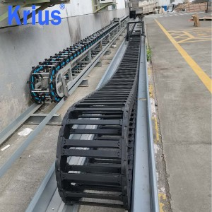 High Strength Heavy Duty Plastic Roller Cable Carriers