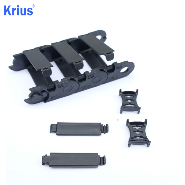 New Arrival China Steel Cable Drag Chain - China Best CNC Machine Nylon Cable Carrier Energy Drag Chain Exporter  – Krius