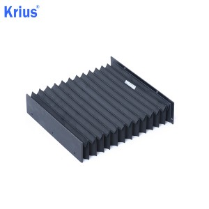 Wholesale Slideway Covers - Expansion Machine Flexible Rubber Accordion Dust Protect Bellows Cover – Krius