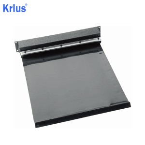 Hot New Products Slide Plate Steel Flex Covers - Good Structure Aluminium Roll Cover Curtain – Krius