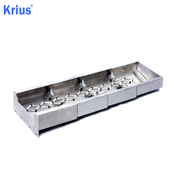 Wholesale Price Steel Armoured Machine Bellows - Large Strenched Bellow Telescopic Steel Cover – Krius detail pictures