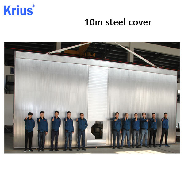 100% Original Factory Machine Accordion Shield - Multiaxis Steel Cover System For CNC Machine Center – Krius