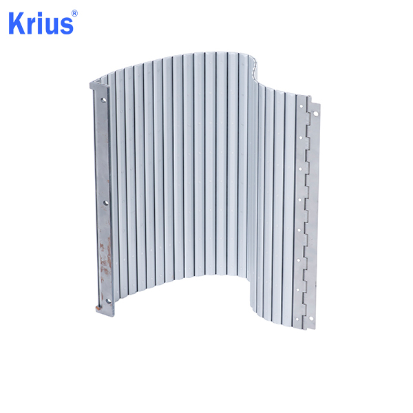China Supplier Machine Bellows - Aluminium Apron Cover Protective Bellow Cover – Krius