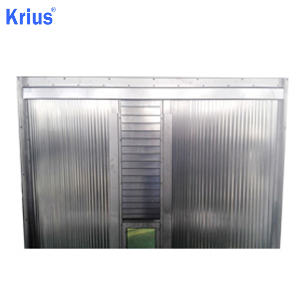 PriceList for Waterproof Bellow Cover - Multiaxis Steel Cover System For CNC Machine Center – Krius