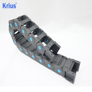 Cable Plastic Track Holder Protector Drag Chain For CNC Machine