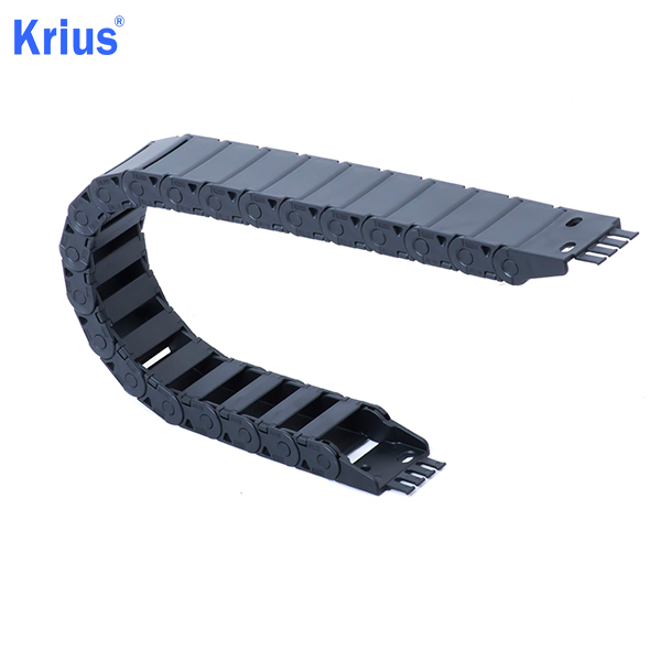 Excellent quality Cnc Plastic Cable Chain - Stable CNC Ladder Cable Carrier Drag Chain with Four Limit Blocks  – Krius