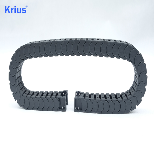 Discountable price Small Drag Chain - OEM CNC Plastic Cable Carrier Drag Chain Towline Exporter  – Krius