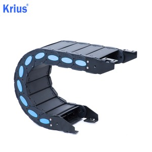 Good Wholesale Vendors Machine Tool Steel Drag Chain - Plastic Cable Chain For Cnc Machine – Krius