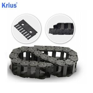 Factory Promotional Enclosed Tow Chain - Plastic Towline Cable Drag Chain for Plasma CNC Machine – Krius