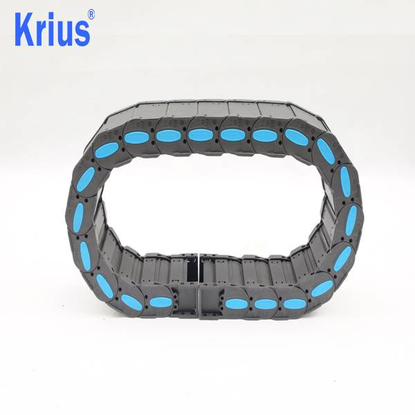 Hot sale 80mm 5m G80 Drag Chain - High Quality Small Pitch Flexible Nylon Cable Energy Chain  – Krius